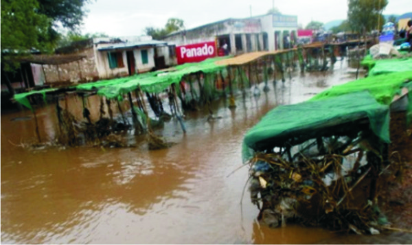Flooded areas of Malawi