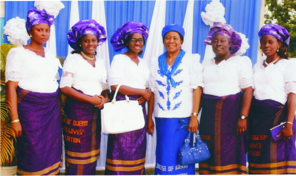 Mama Owerre, with some Clergy wives.